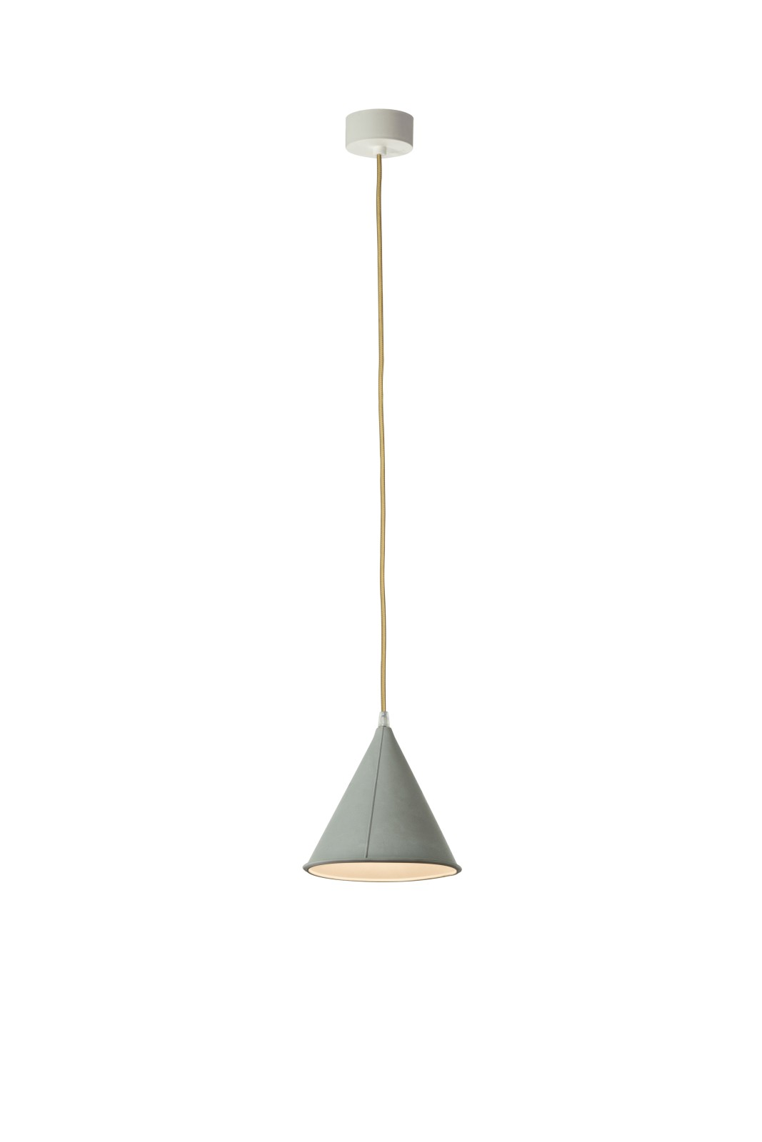 POP 2 Pendant Light Grey, Gold