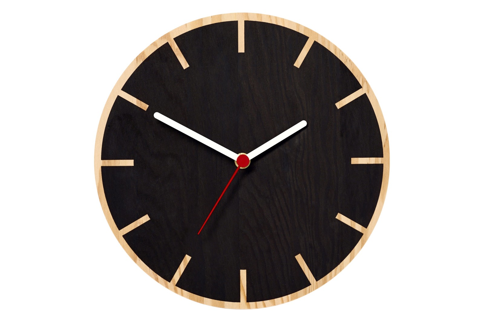 Primary Wall Clock Cog, Black