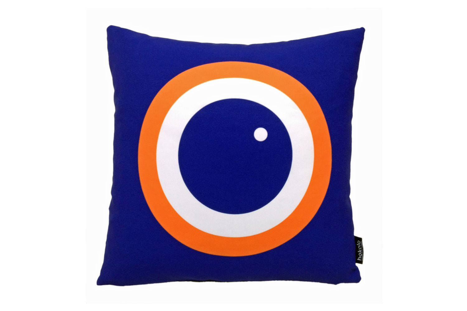 Printed Cushion Cover & Infill Pad, Blueberry