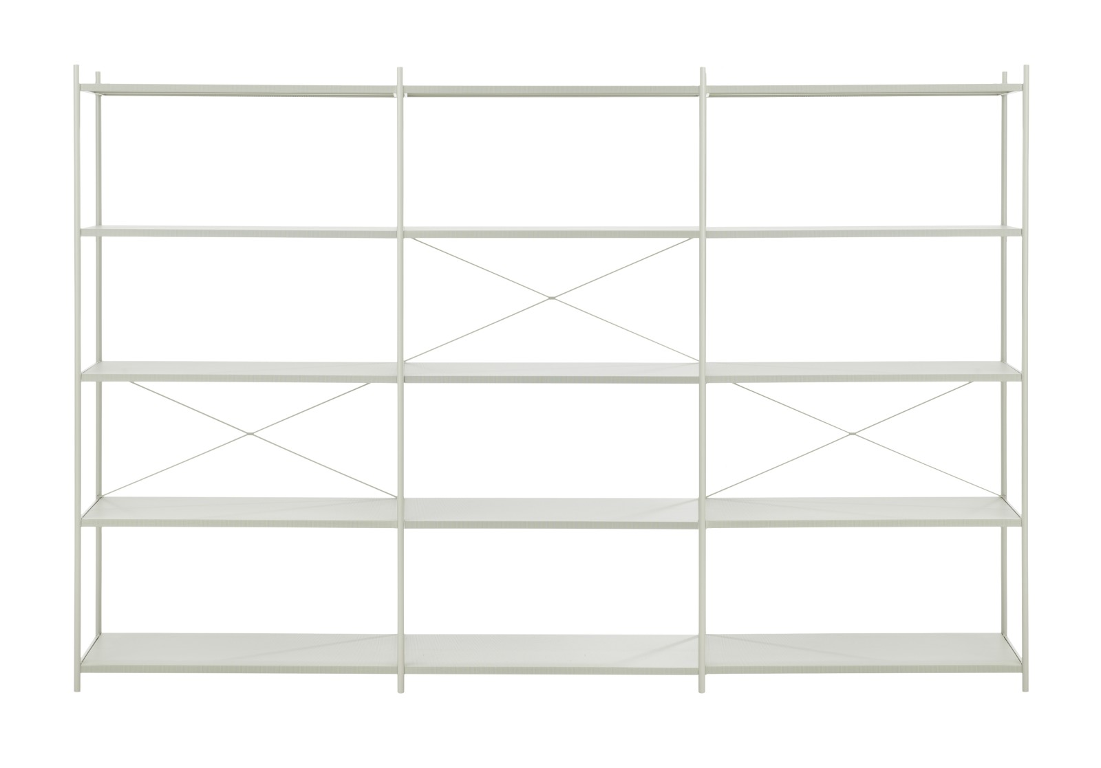 Punctual Shelving System 3x5 Grey