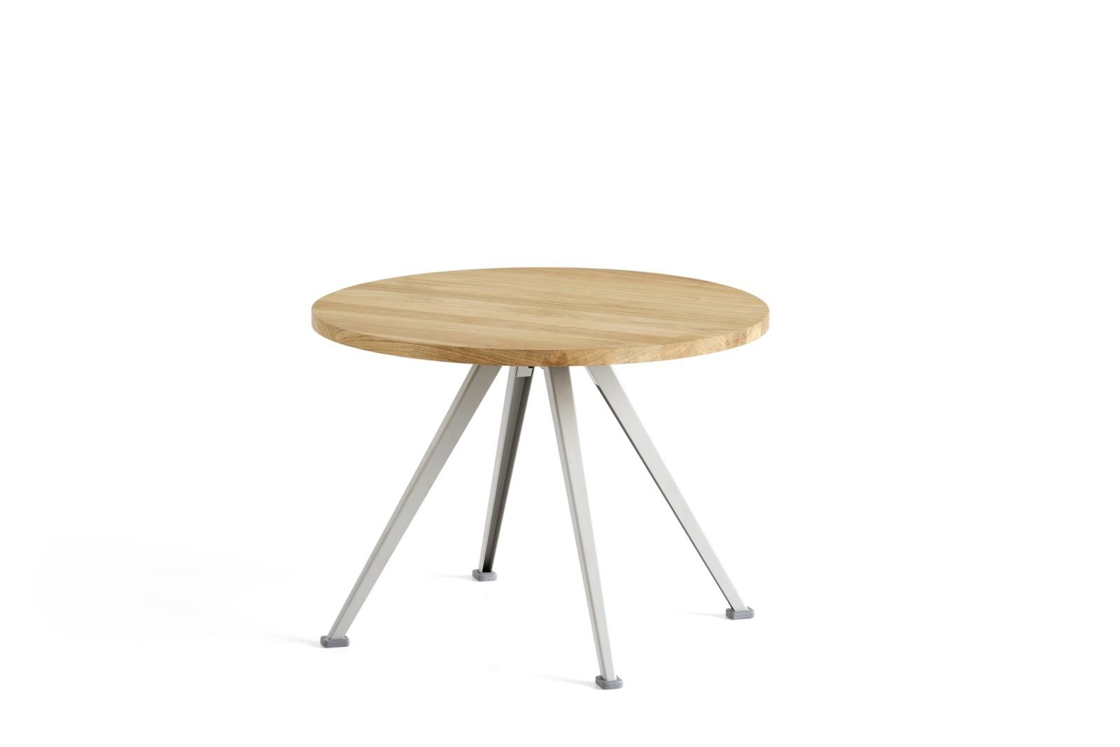 Pyramid Low Coffee Table 51 Oiled Oak, Beige