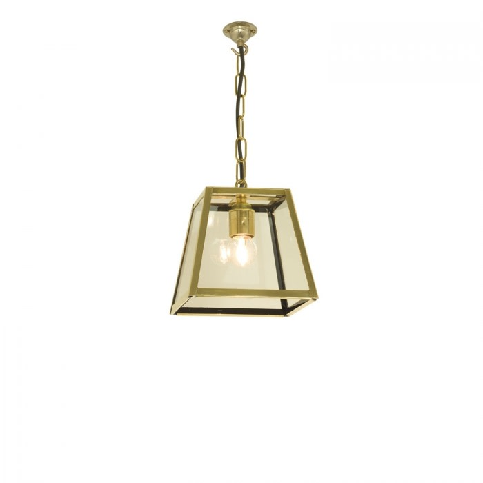 Quad Pendant Light 7636 Polished Brass, Small