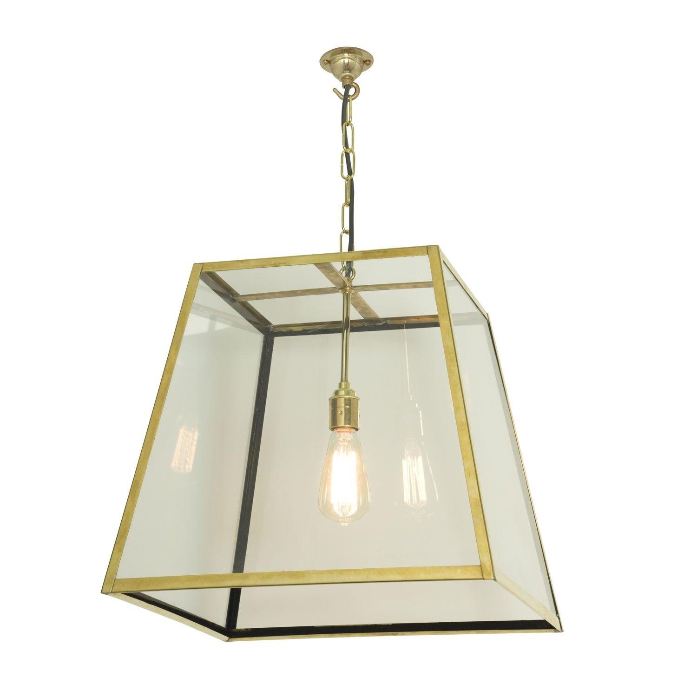 Quad Pendant Light 7636 Polished Brass, Large
