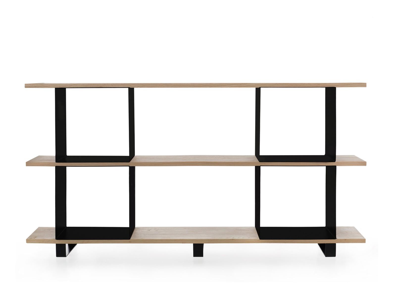 Qubik shelf #2 black cubes