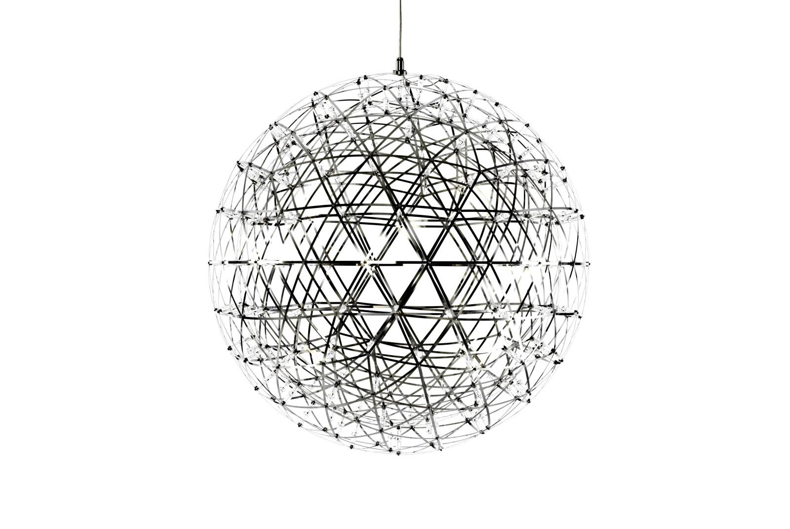 Raimond Pendant Light - Round 61cm Diameter, 400cm Cable Length, Dimmable