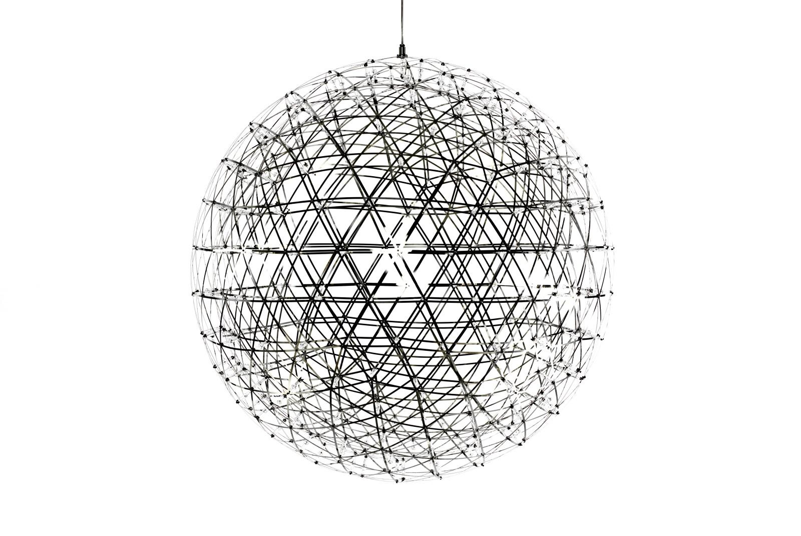 Raimond Pendant Light - Round 89cm Diameter, 400cm Cable Length, Dimmable