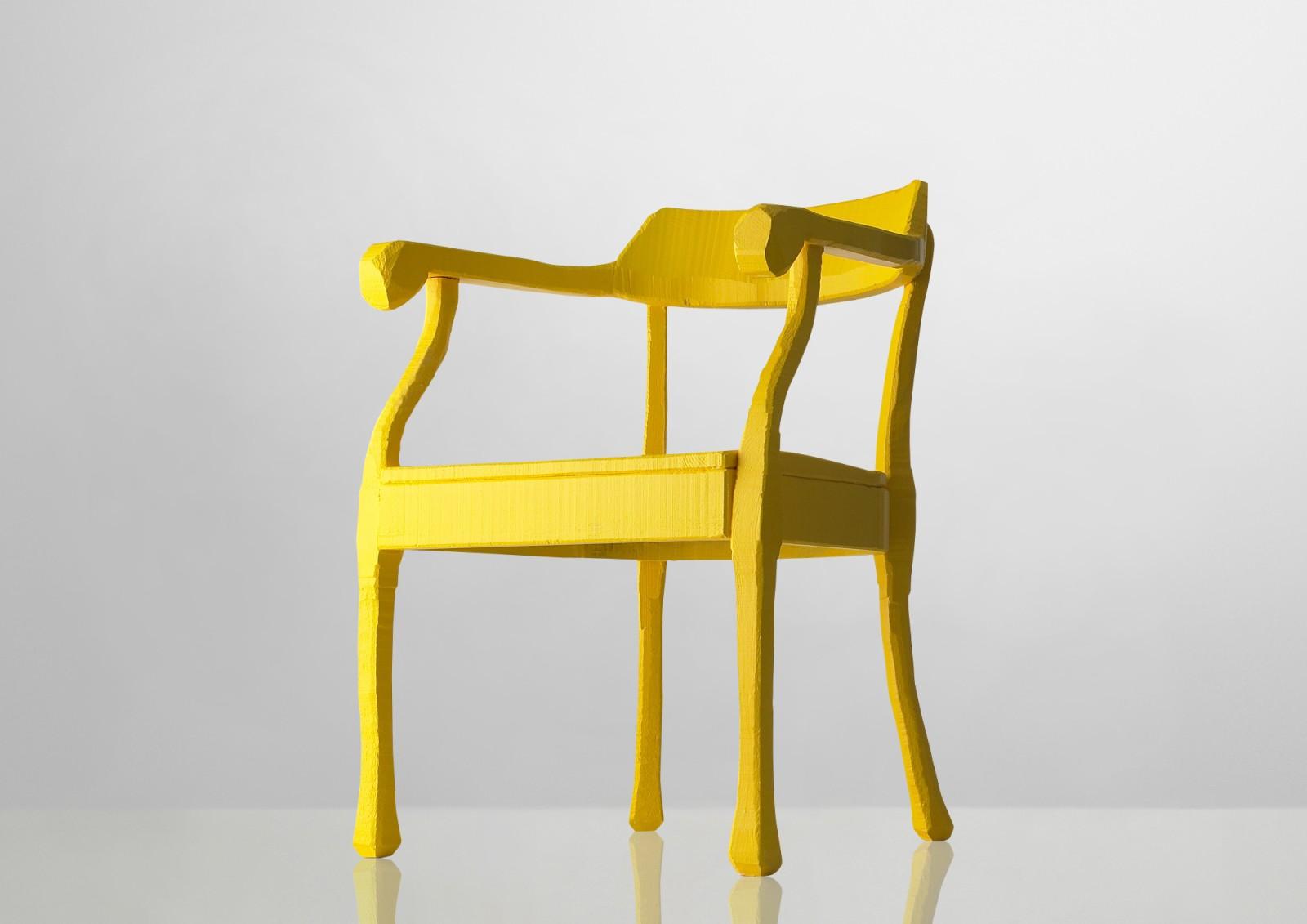 Raw Lounge Chair Yellow
