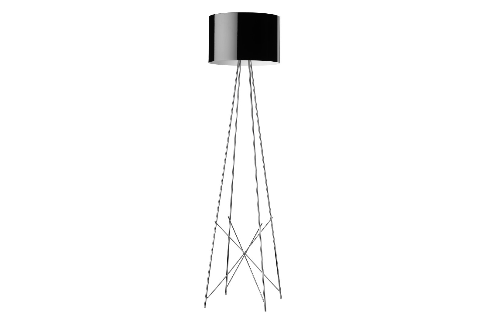 Ray F Floor Lamp F1, Black, Small