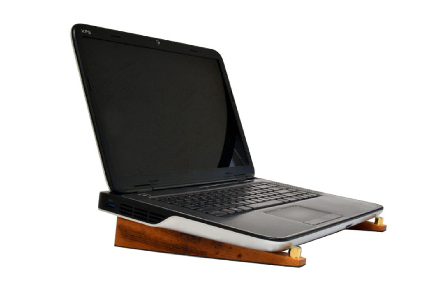 Reclaimed Church Pew Laptop Stand