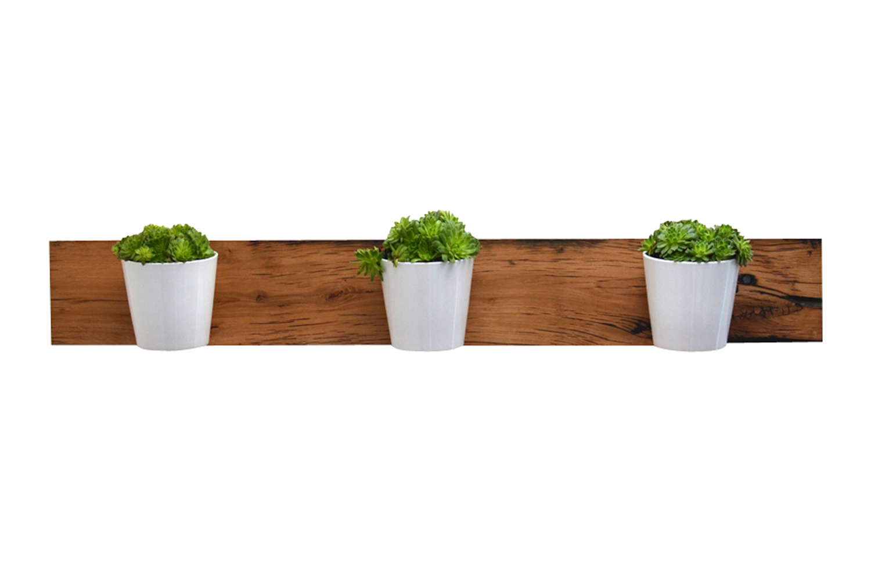Reclaimed French Oak Planter Horizontal
