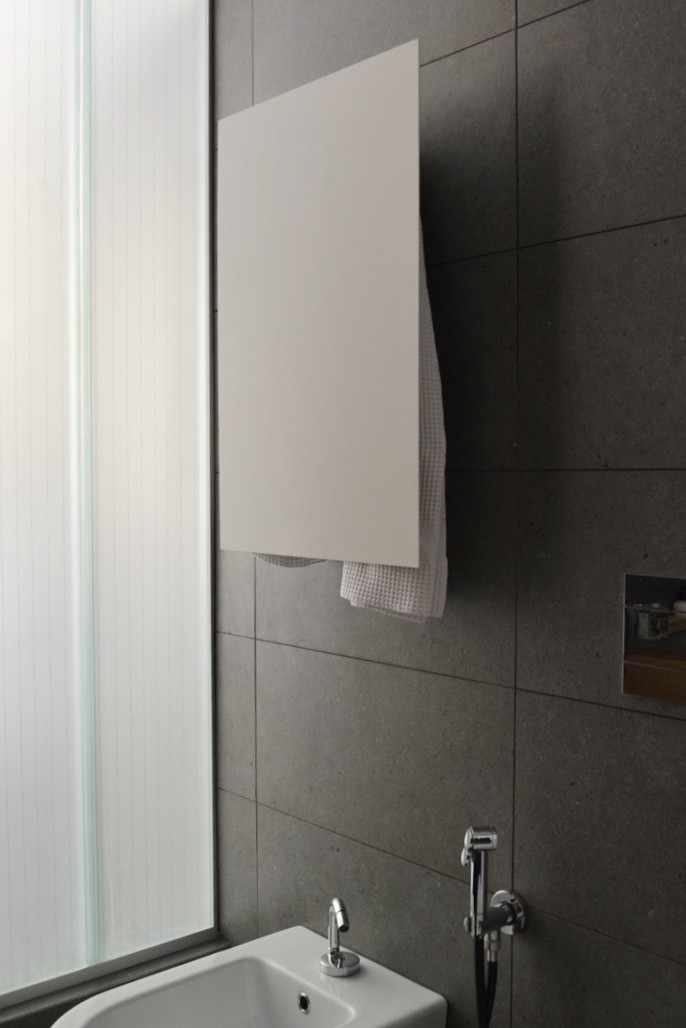 Rectangle Towel Warmer White
