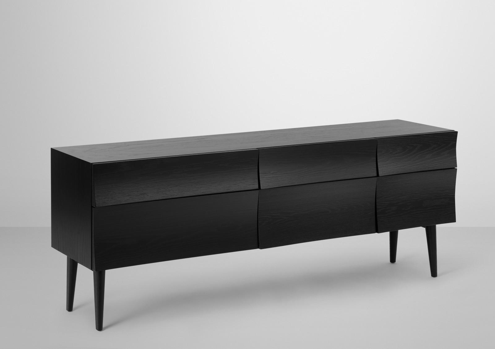Reflect Sideboard Large, Black