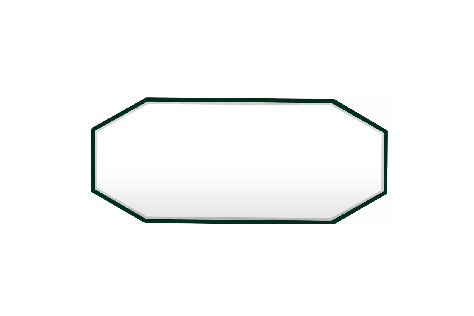 Reflection Medium Mirror Deep Green