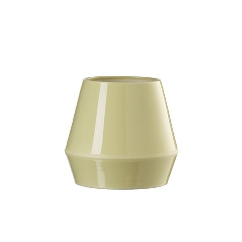 Rimm Vase, Short - Set of 2 Dusty Yellow