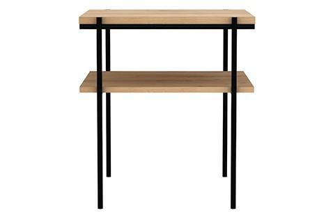 Rise Rectangular Side Table Oak
