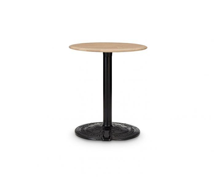 Roll Table Natural Oak Top, 60cm