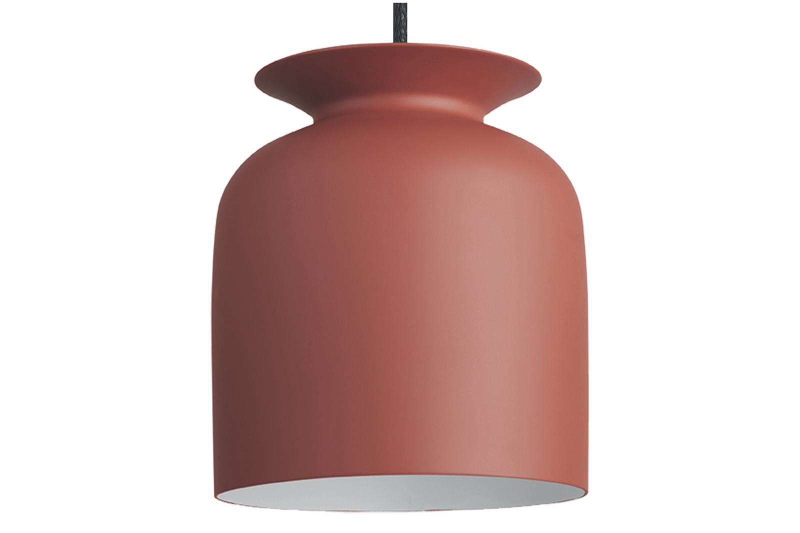 Ronde Pendant Light Gubi Metal Rusty Red, 020