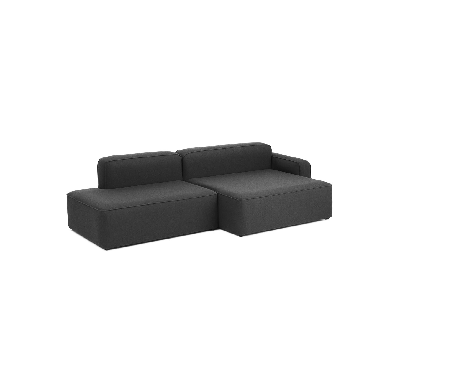 Rope Modular Sofa 400 Wide Chaise Lounge Left Armrest Fame 60005
