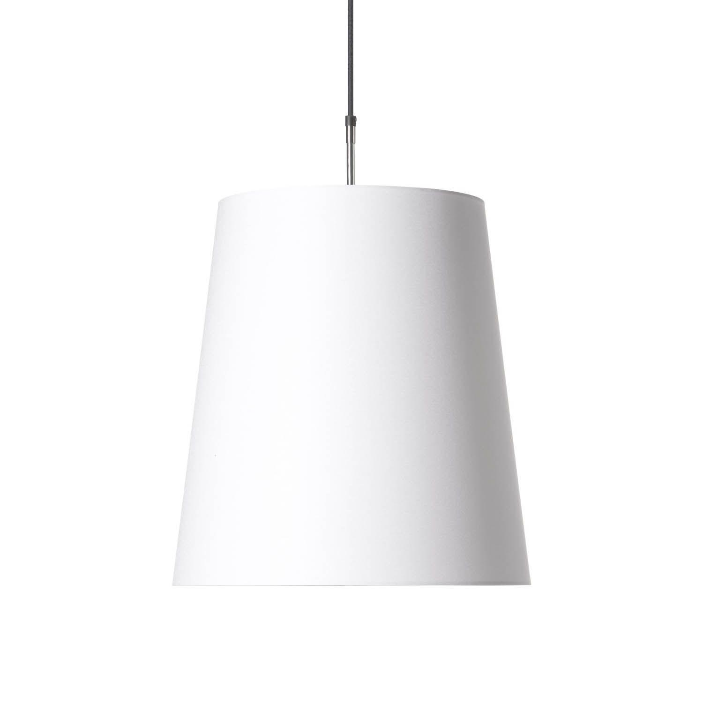 Round Pendant Light White