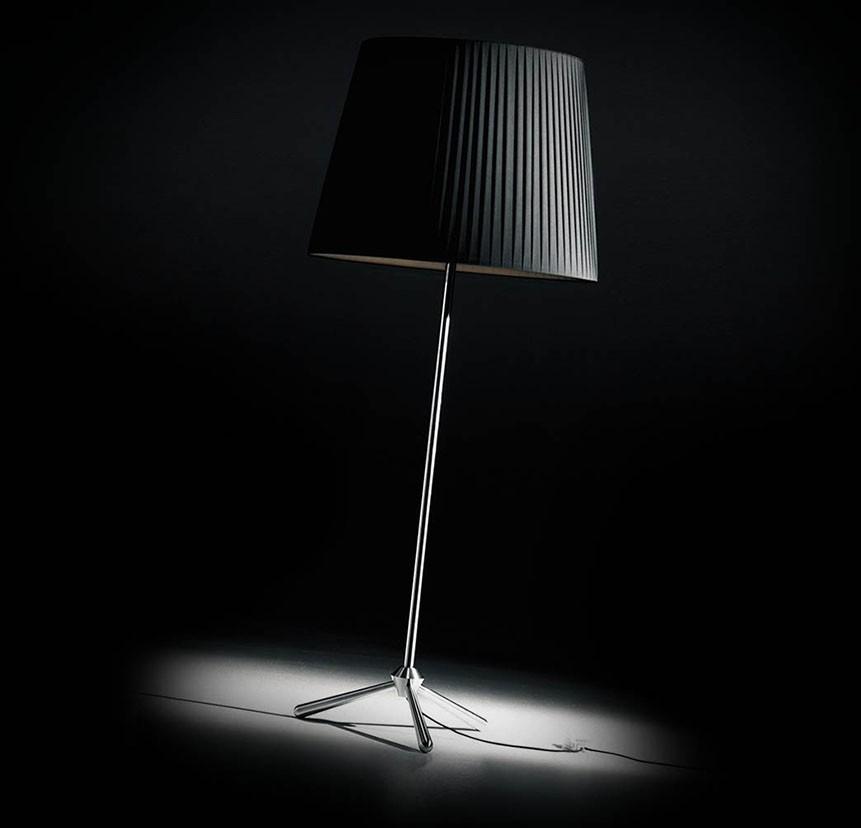 Royal Floor Lamp Black, 60