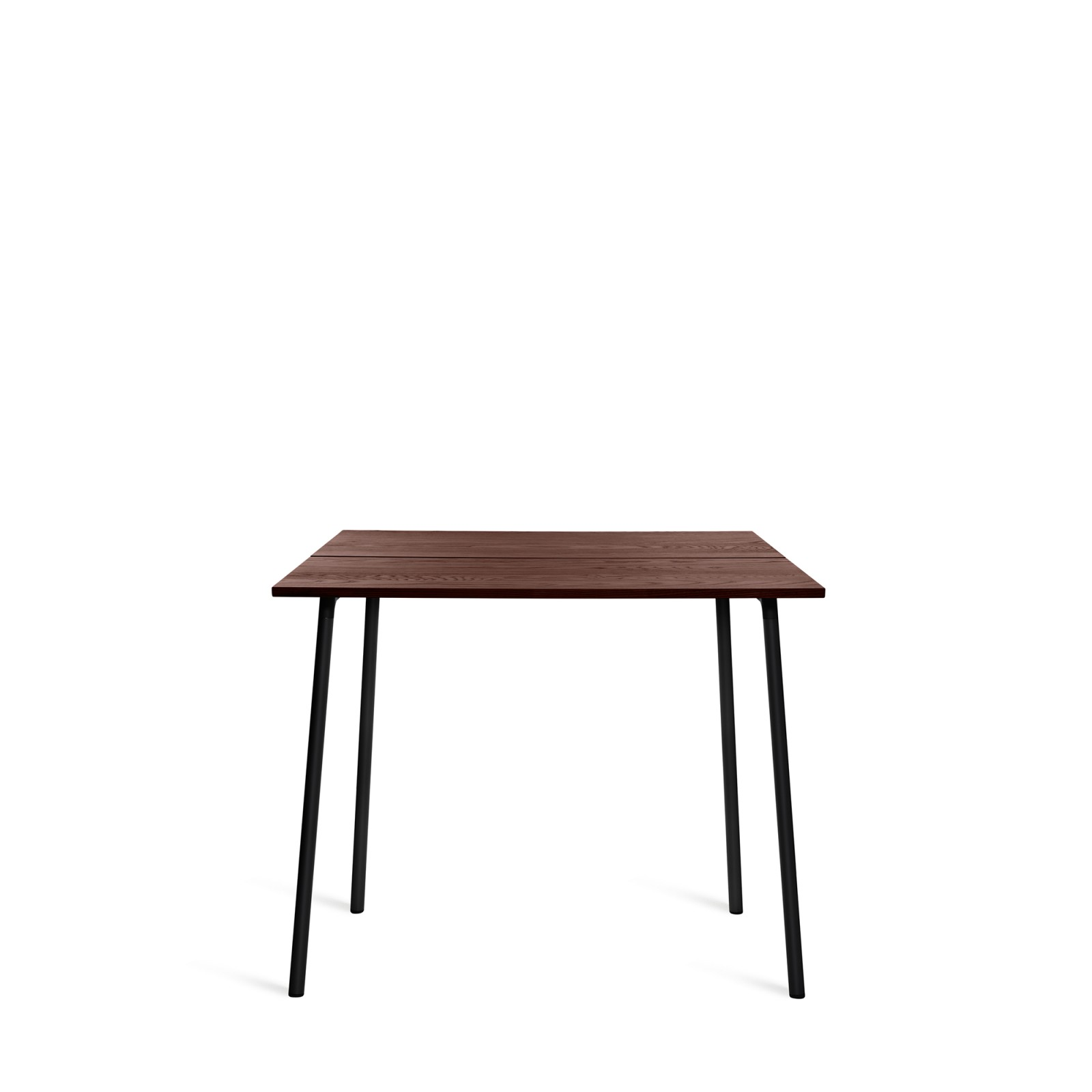 Run High Table Black, Walnut, 183cm