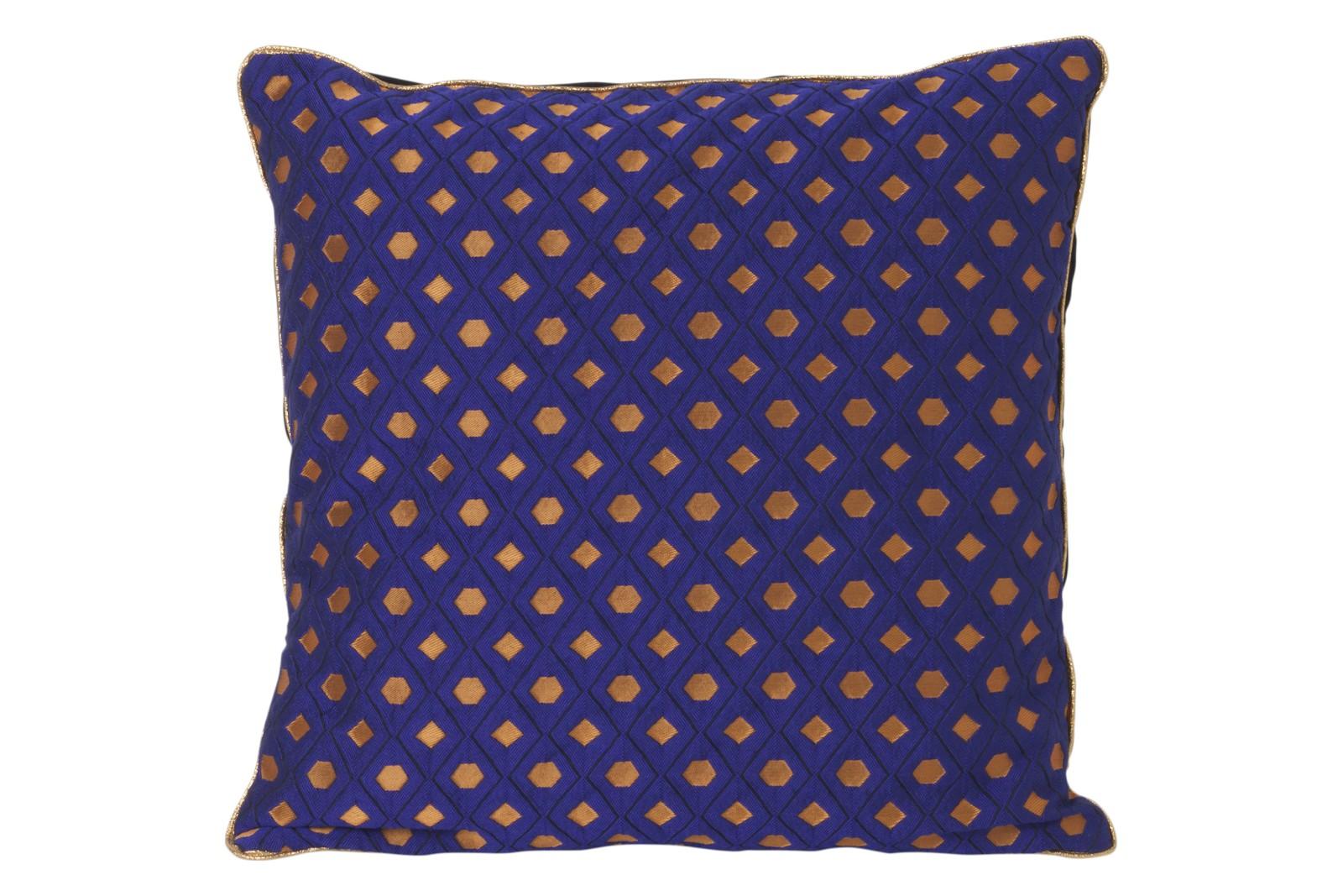 Salon Cushion - Set of 2 Mosaic - Blue, 40 x 40 cm