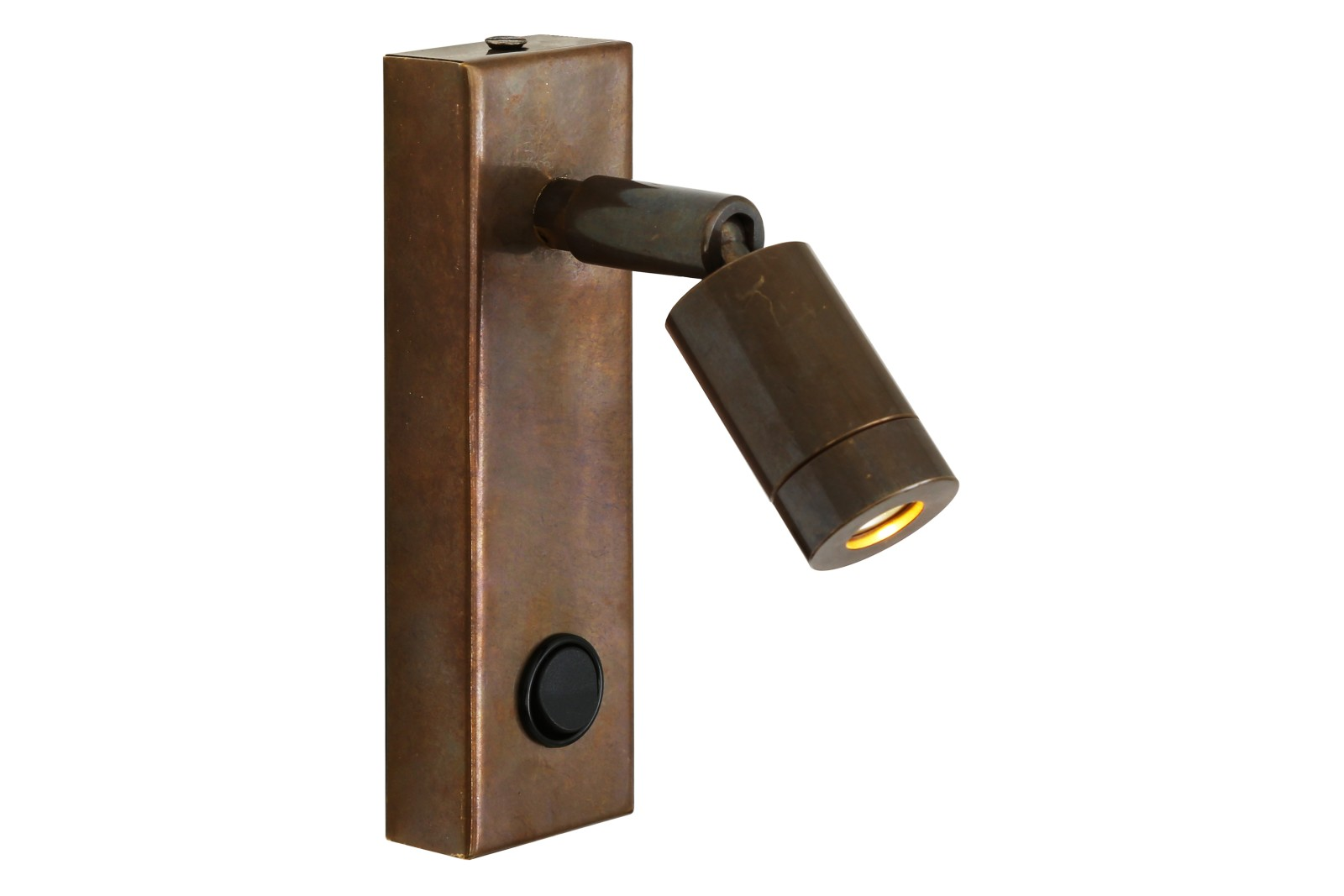 Sampio Wall Light Antique Brass