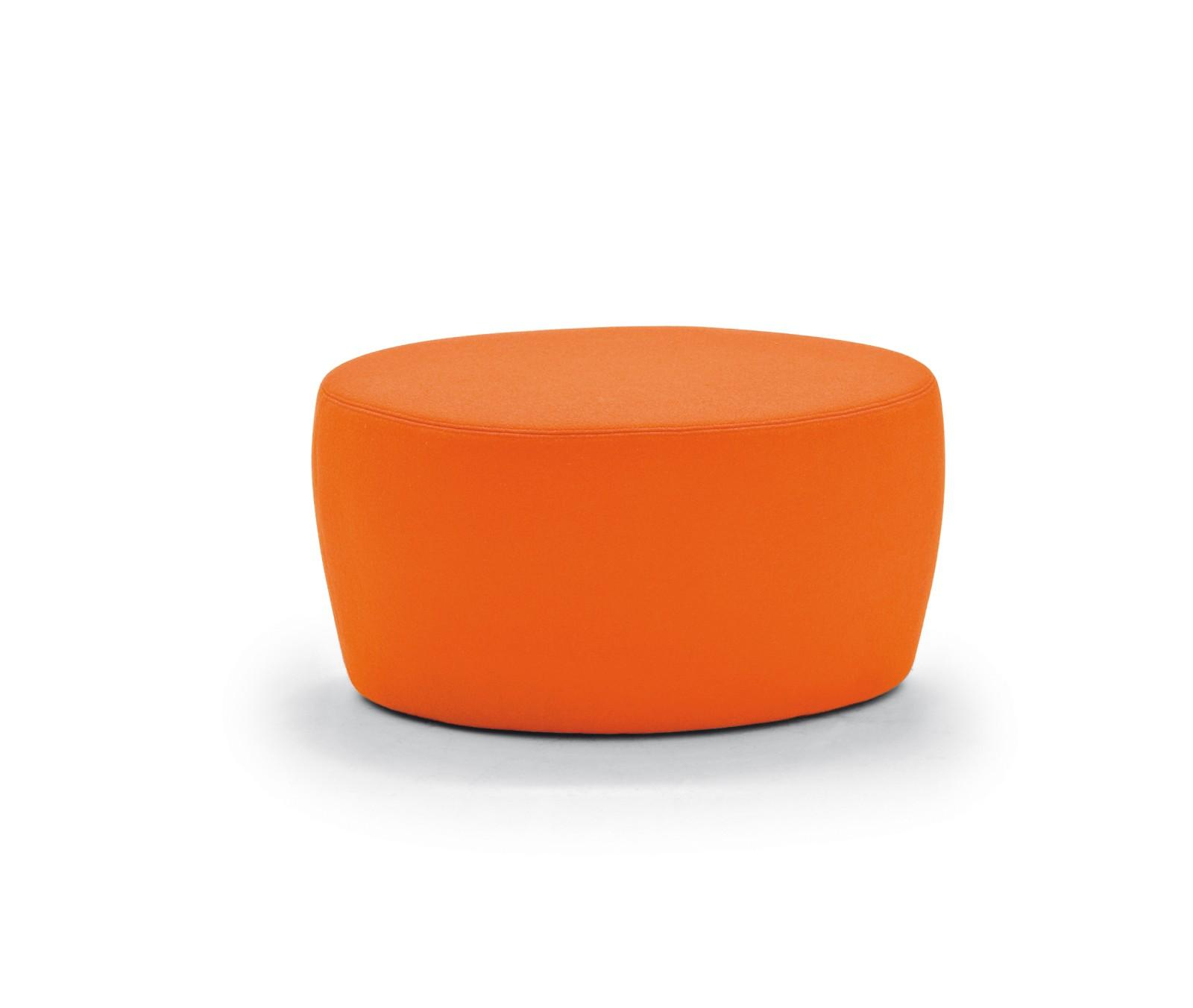 Saruyama Island Footstool A4500 - Art.48045 - 206 beige, Small