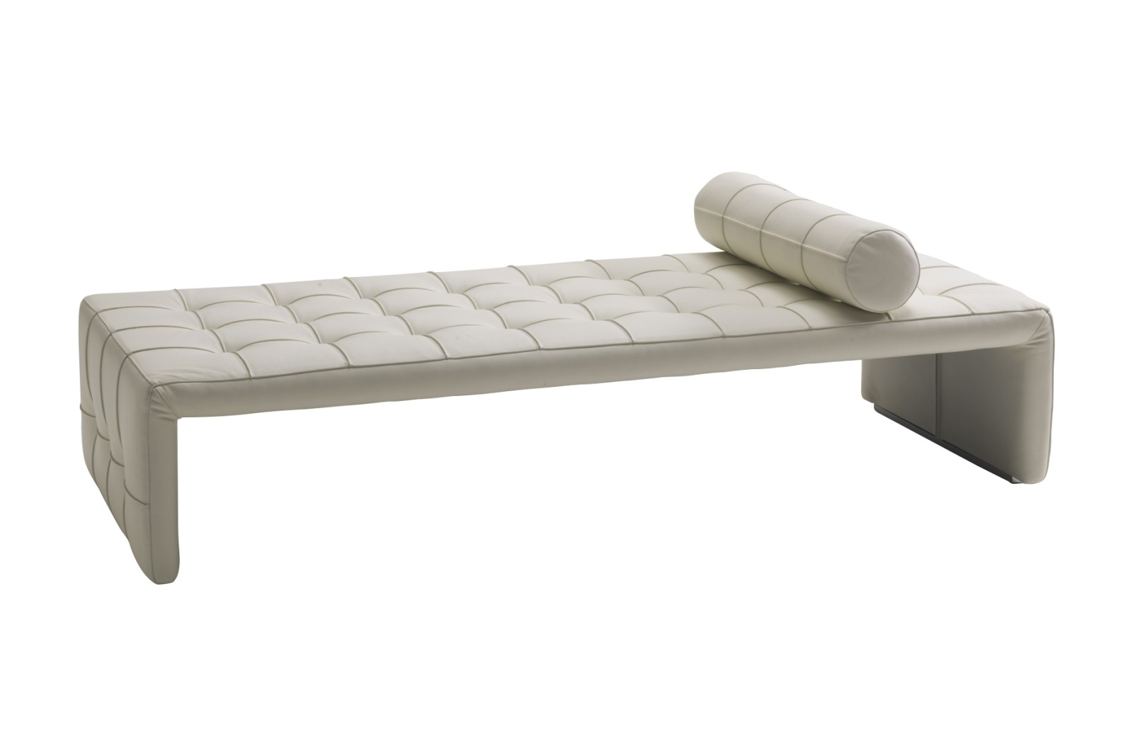 Scarlett Bench, Upholstered Cuoio Corda, 72cm