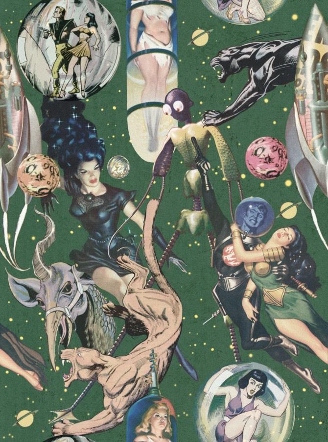 Sci-Fi Comics Wallpaper