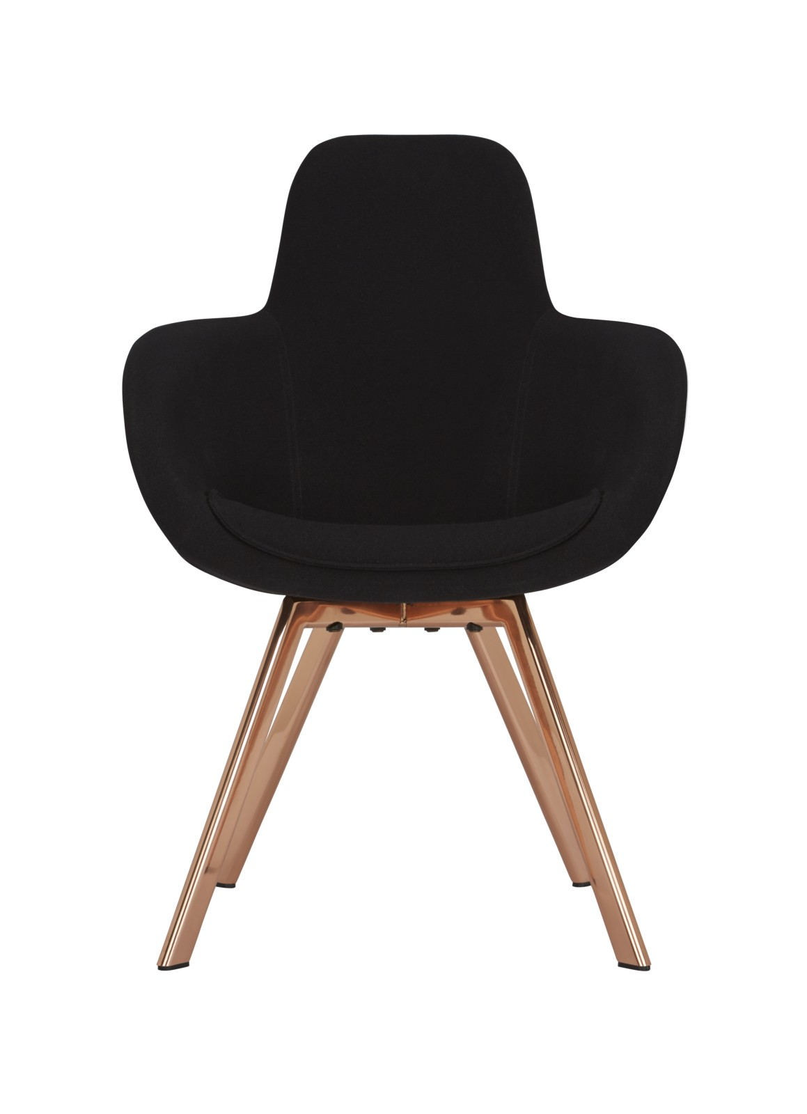 Scoop High Back Chair Copper, Remix 2 113
