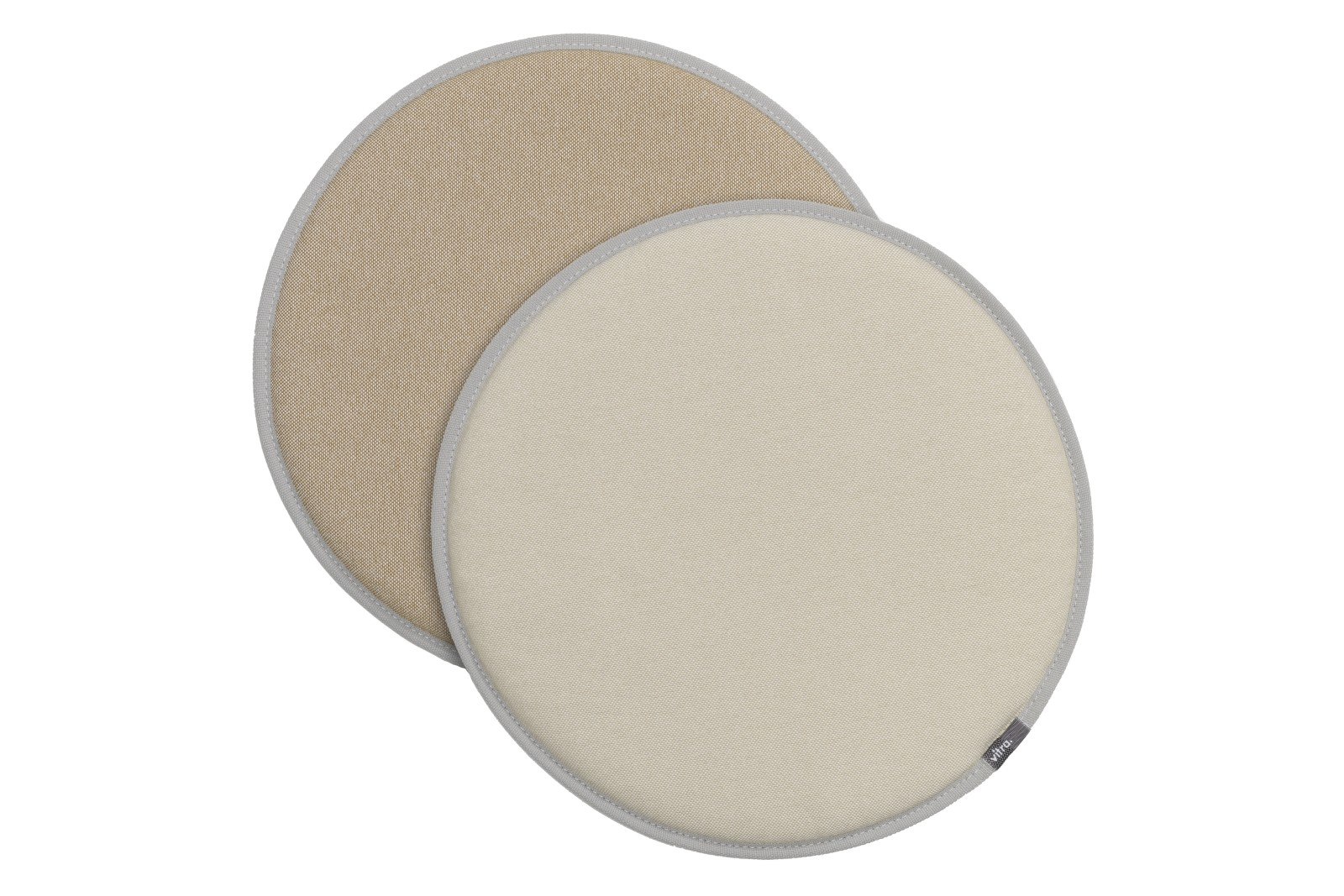 Seat Dots parchment/cream white - tobacco/cream white