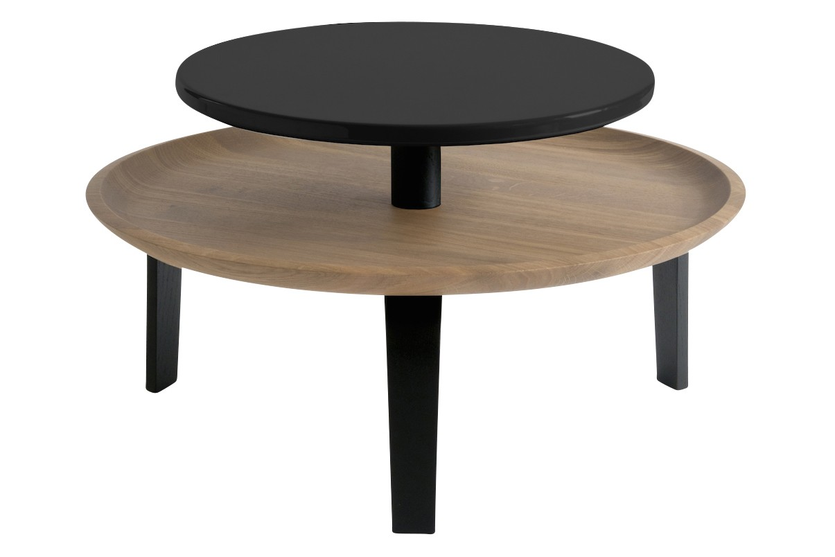 Secreto Coffee Table Black, Low