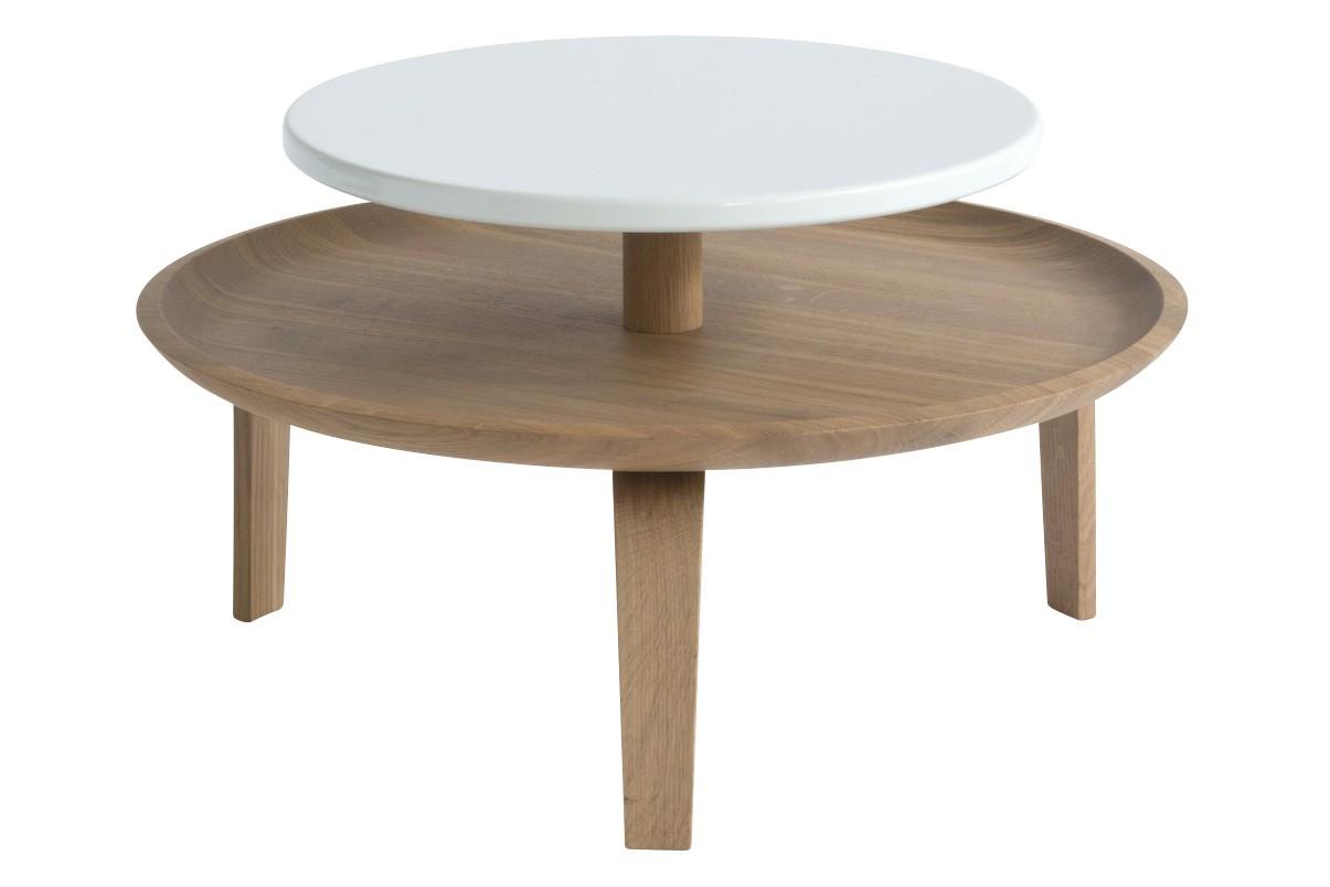 Secreto Coffee Table White, Low