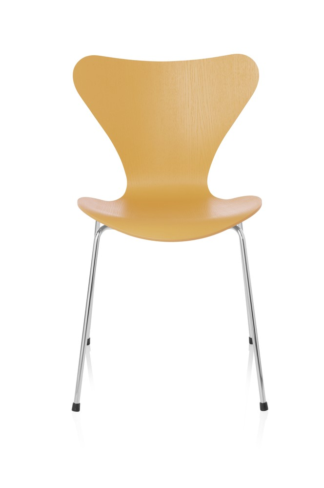 Series 7 Chair Coloured Ash Egyptian Yellow 455