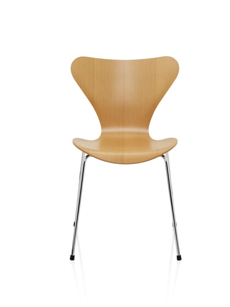 Series 7 Chair Natural Veneer Oregon Pine
