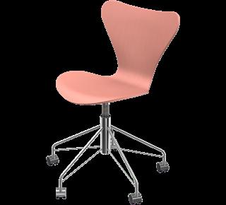 Series 7 Swivel Chair Coloured Ash Altstadt Rose 625