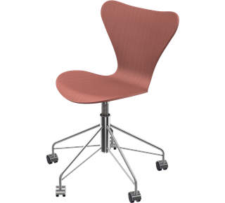 Series 7 Swivel Chair Coloured Ash Chocolate Milk Brown 365
