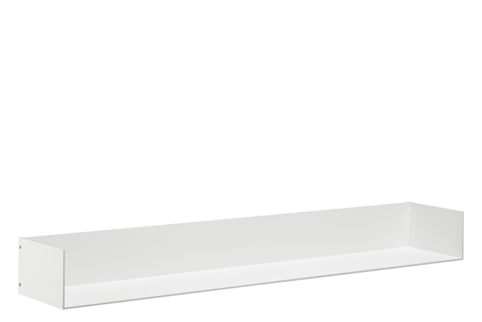 SH06 Profil Shelf with Side Panels Signal White, Long