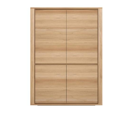 Shadow Storage Cupboard Oak