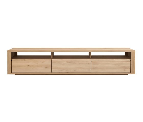 Shadow TV Cupboard Oak, 210 x 46 x 42 cm