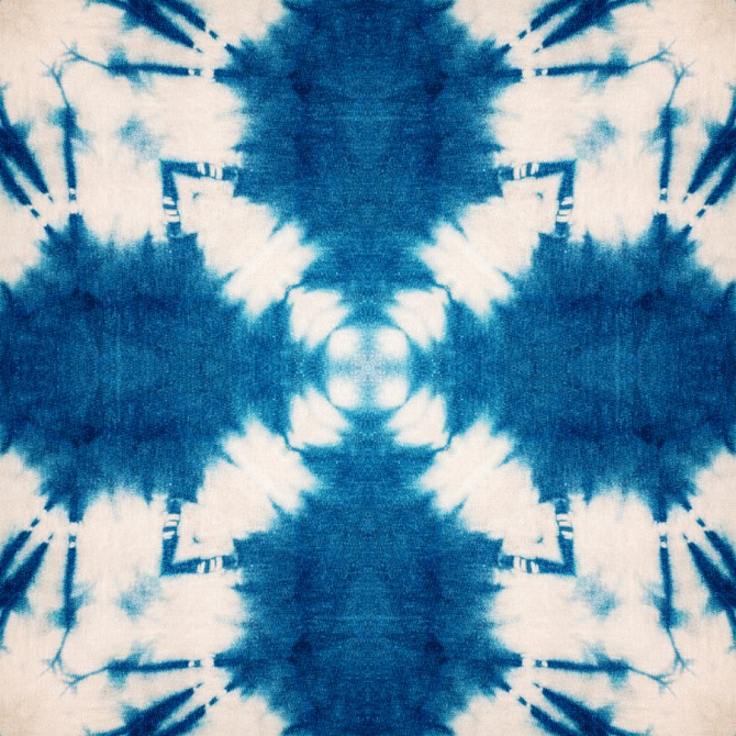Shibori Butterfly Wallpaper