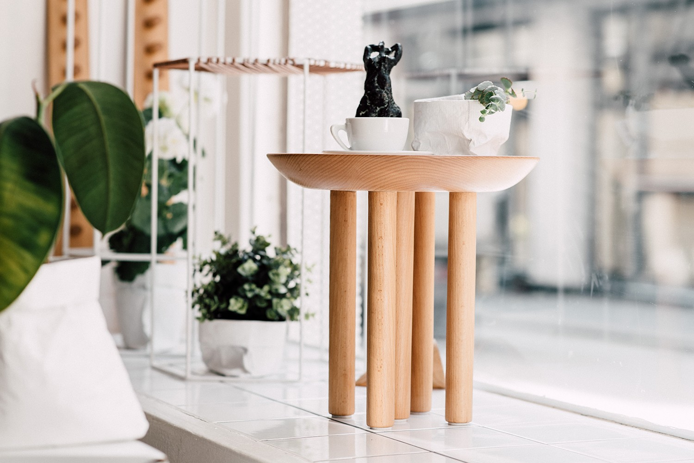 Shroom side table/newspaper stand Shroom