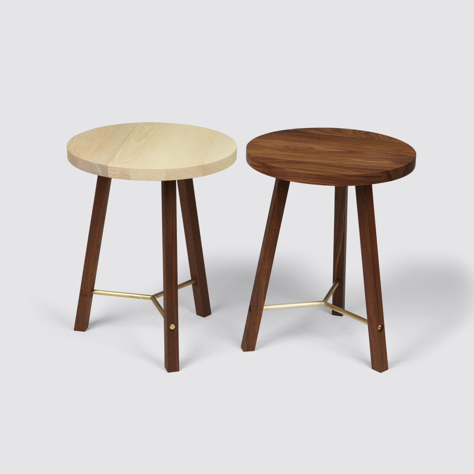 Side Table Two Walnut
