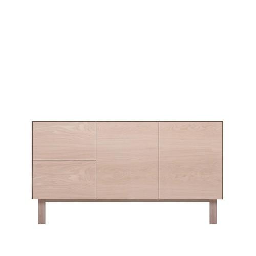 Sideboard 2 Doors & 2 Drawers Oak, Oak