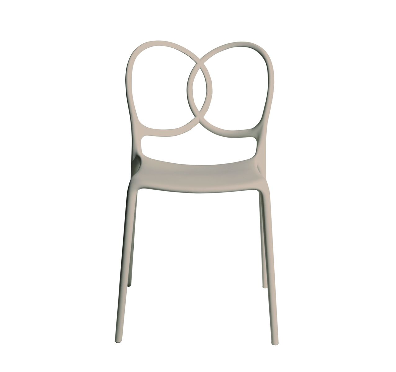 Sissi Stackable Chair Set Beige