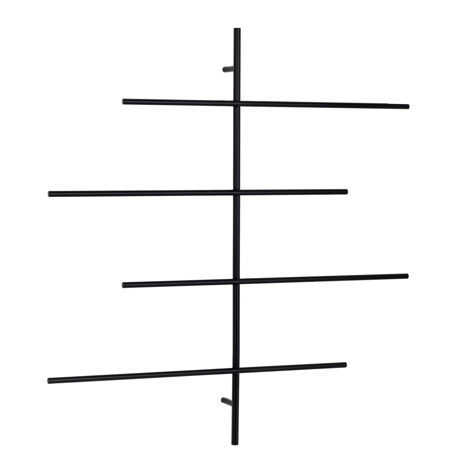 Sketch Newspaper Rack 79 Powder Coated Black