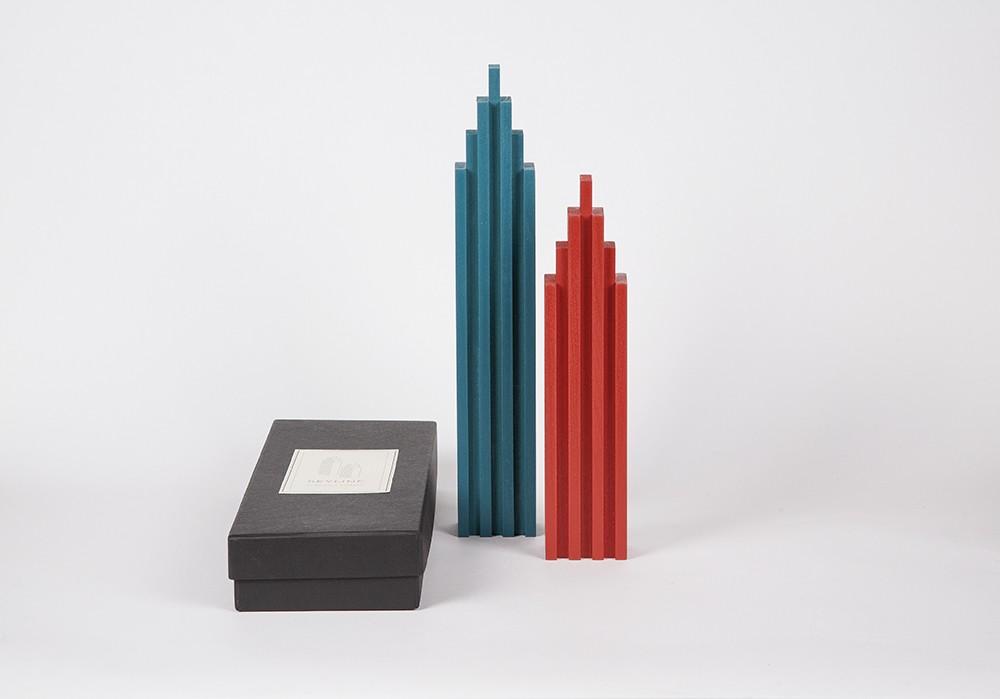 Skyline Blue/Red