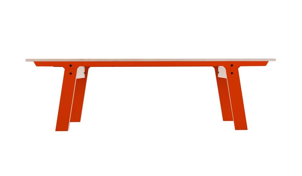 Slim 01 Mid Bench Foxy Orange