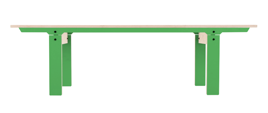 Slim 04 Mid Bench Palm Leaf Green